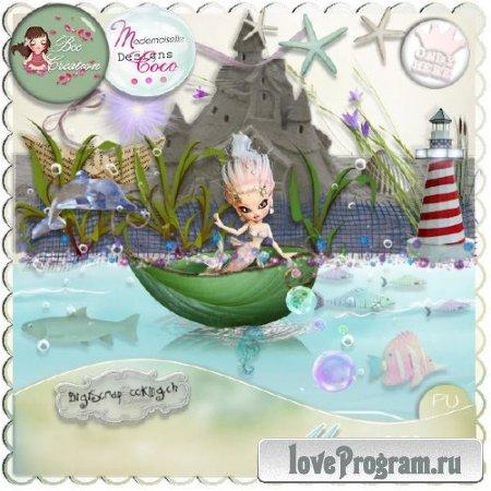 Детский скрап-набор — Морской