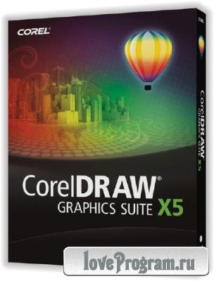 CorelDraw Graphics Suite X5 SP3 v.15.2.0 Portable by punsh (2013/RUS/PC/WinAll)