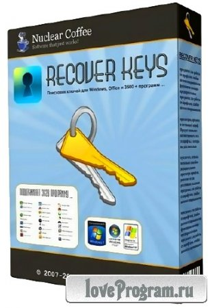 Nuclear Coffee Recover Keys 7.0.3.84 Enterprise (Multi/Rus) (2013)