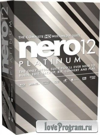 Nero Platinum 12.5.01300 Lite v.3 RePack by MKN
