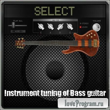Instrument tuning of Bass guitar
