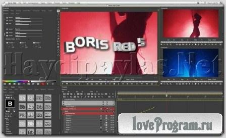 Boris RED v.5.1.1 (2013/Eng/Repack by14m88m)