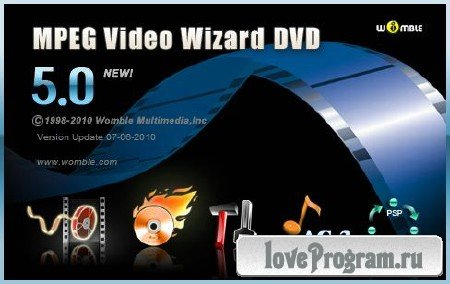 Womble Mpeg Video Wizard DVD 5.0.1.108 Portable