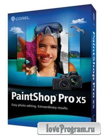 Corel PaintShop Pro X5 SP1 Portable (2013/Rus)