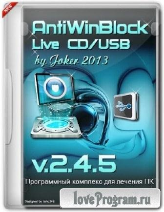 AntiWinBlock v.2.4.5 LIVE CD / USB (2013/Rus/Eng)