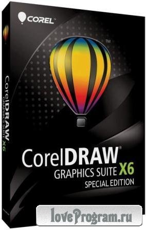 CorelDRAW Graphics Suite X6 v.16.4.0.1280 SP4 Special Edition (2013/Rus/Eng)
