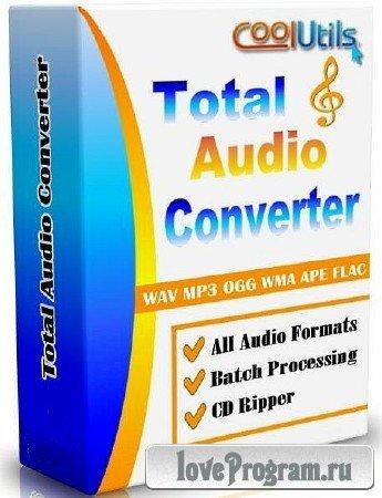 CoolUtils Total Audio Converter 5.2.0.80