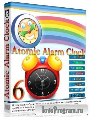 Atomic Alarm Clock 6.26