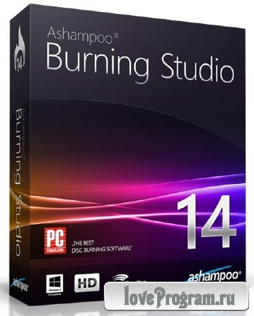 Ashampoo Burning Studio 14.0.5 Rus Portable by SamDel