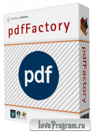 pdfFactory Pro 5.05 Workstation / Server Edition DC 21.04.2014 (Cracked)