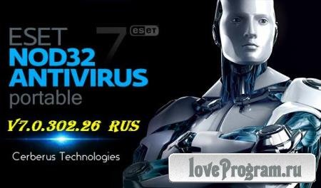 Eset NOD32 Antivirus v7.0.302.26 Portable DC 2014.05.19