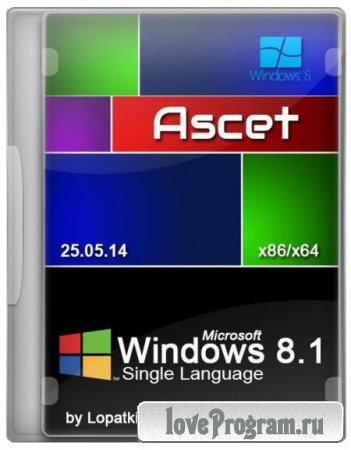 Windows 8.1 Single Language 6.3.9600.17085 17085 Ascet [x64] (2014/RUS)