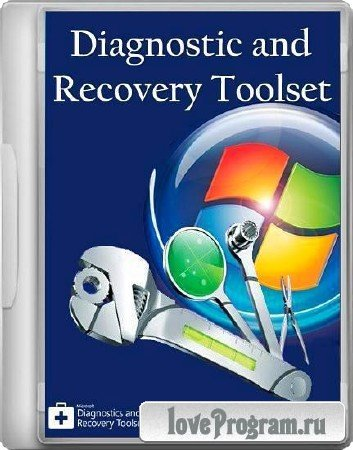 Microsoft Diagnostic and Recovery Toolset 8.1 x64 (MSDaRT) ISO WIM 8.1 x64