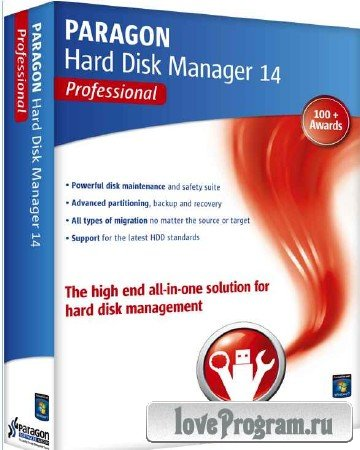 Paragon Hard Disk Manager 14 Pro 10.1.21.623 + Recovery