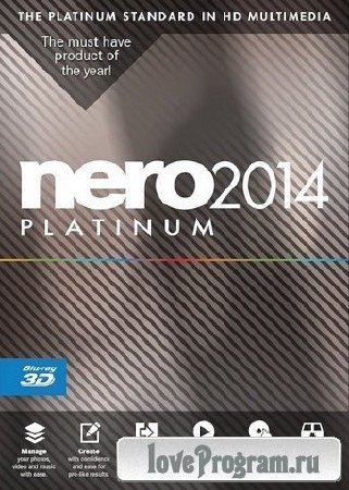 Nero 2014 Platinum 15.0.09300 RePack by D!akov