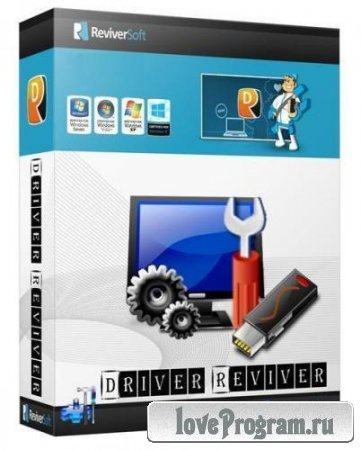 ReviverSoft Driver Reviver 4.0.1.94 RePack by D!akov (Eng/Rus)
