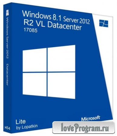Windows 8.1 Server 2012 R2 VL DataCenter 17085 [x64] Lite (RUS/2014)
