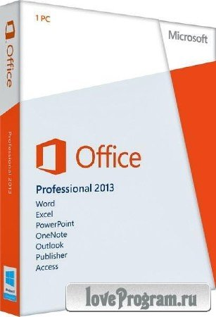 Microsoft Office 2013 SP1 Professional Plus 15.0.4631.1000 RePack by D!akov