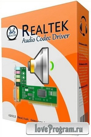 Realtek High Definition Audio Drivers 6.01.7293 Vista/7/8 + 5.10.7116 XP