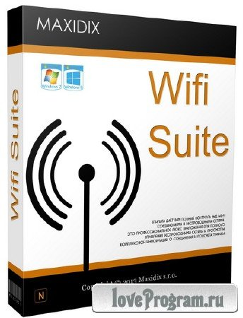 Maxidix WiFi Suite 14.8.10 Build 677 Final (+ Portable)