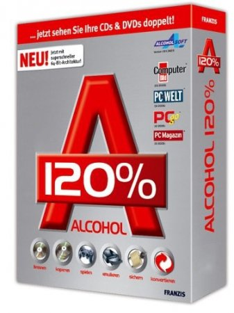 Alcohol 120% 2.0.3.6731 Retail Repack by D!akov