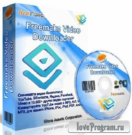 Freemake Video Downloader 3.7.0.10 Portable by Baltagy