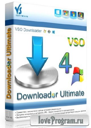 VSO Downloader Ultimate 4.1.1.25 ML/RUS