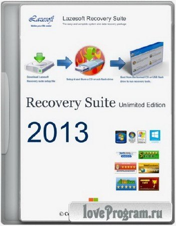Lazesoft Recovery Suite 3.5.1 Unlimited Edition BootCD