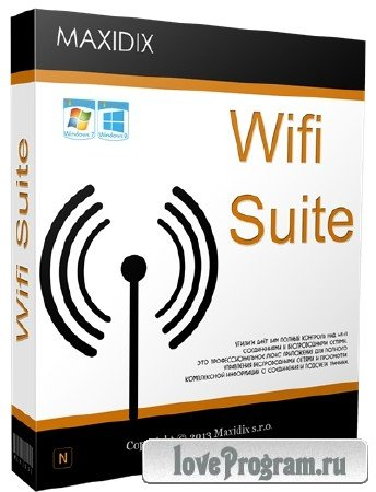 Maxidix Wifi Suite 14.9.22 Build 720 Portable