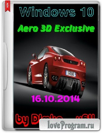 Windows 10 Technical Preview & Aero 3D Exclusive x64 by D1mka v.5 (RUS/ENG/2014)