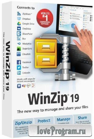 WinZip Pro 19.0 Build 11293r Final *Russian*