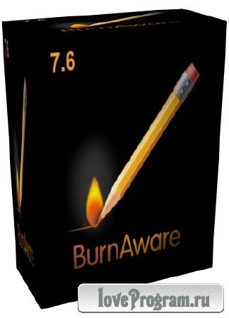 BurnAware 7.6 Professional RePack (& Portable) by Diakov