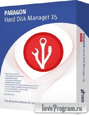 Paragon Hard Disk Manager 15 Suite 10.1.25.431 + BootCD | Recovery Boot Medias