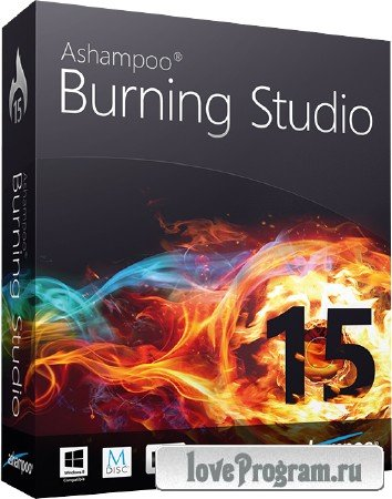 Ashampoo Burning Studio 15.0.1.39 RePack by Diakov