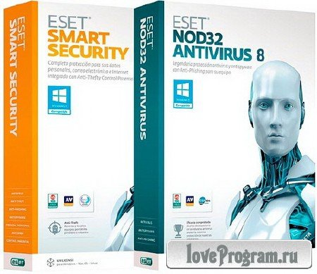 ESET NOD32 Antivirus / Smart Security 8.0.304.1 RePack by KpoJIuK (4-в-1)