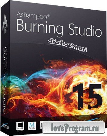Ashampoo Burning Studio 15.0.2.2 RePack by Diakov