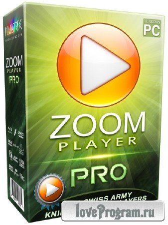 Zoom Player PRO 9.5.0.100 Final + Rus