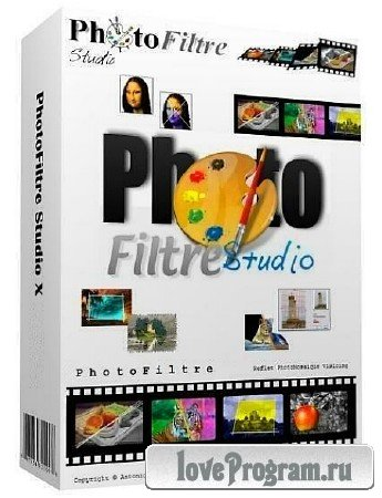 PhotoFiltre Studio X 10.9.1 + Rus