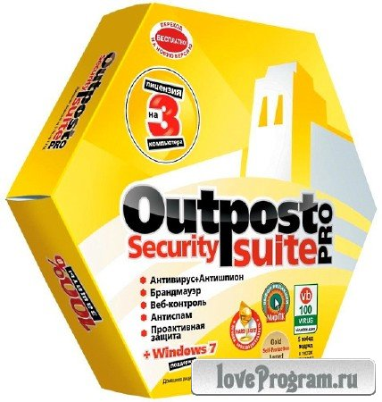 Agnitum Outpost Security Suite Pro 9.1 4652.701.1951 Final DC 31.12.2014