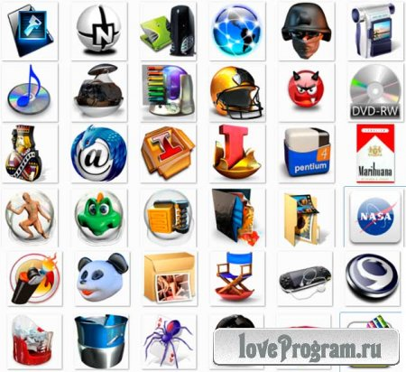скачать бесплатно иконки для компьютера: