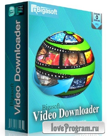 Bigasoft Video Downloader Pro 3.8.15.5538