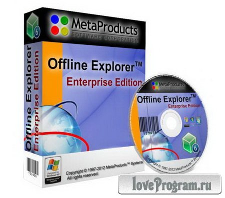 MetaProducts Portable Offline Browser | Offline Explorer Enterprise 6.9.4198 SR3