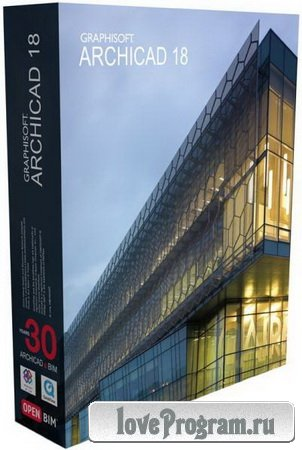 GraphiSoft ArchiCAD 18 Build 5100 Final (x64) Russian