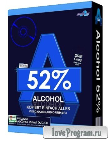 Alcohol 52% 2.0.3.7612 Free Edition Final