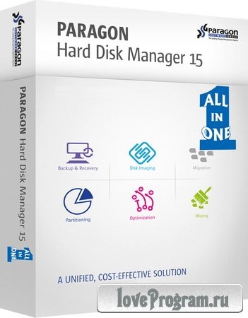 Paragon Hard Disk Manager 15 Premium 10.1.25.710 Recovery CD