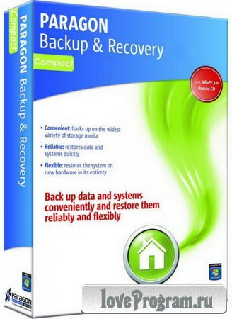 Paragon Hard Disk Manager 15 Backup & Recovery Compact 10.1.25.348 WinPE BootCD (x64)