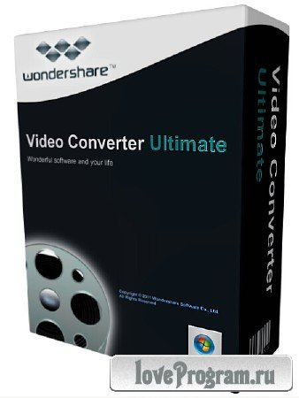Wondershare Video Converter Ultimate 8.2.0.0 + Rus