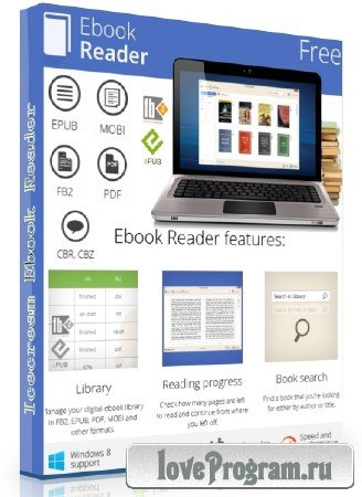 Icecream Ebook Reader 1.64