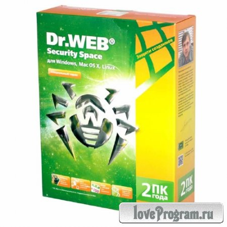 Dr.Web Antivirus + Security Space 10.0.0.12160 Final Rus