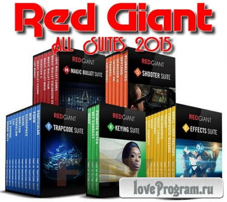 Red Giant All Suites 2015 (Win x86 x64) & (Mac OSX)